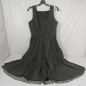 IDEOLOGY Size 14 Green Women's Sleeveless Dress